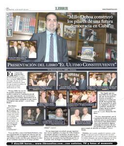 Libre 12 Agosto 2014 Ochoa